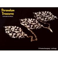 P1 Premium Kerongsang - Leaf Design
