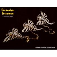 P2 Premium Kerongsang - Dragonfly Design
